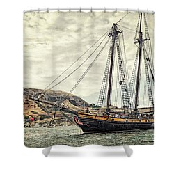 The Spirit Of Dana Point Shower Curtain