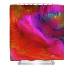 The Spirit Of Life Shower Curtain