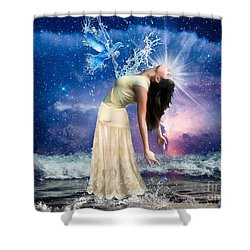 The Spirit Of Truth Shower Curtain