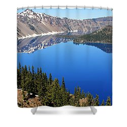 The Splendor Of Crater Lake Shower Curtain