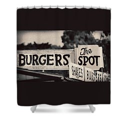 The Spot Shower Curtain