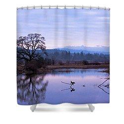 The Spread Shower Curtain