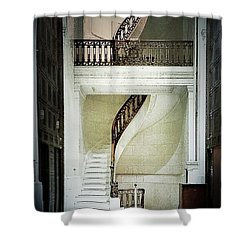 The Staircase Shower Curtain