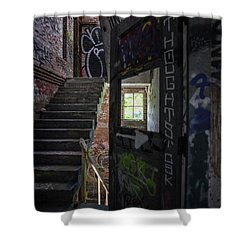 The Stairs Beyond The Door Shower Curtain