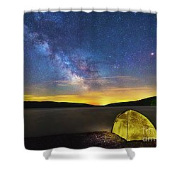 Stellar Camp Shower Curtain