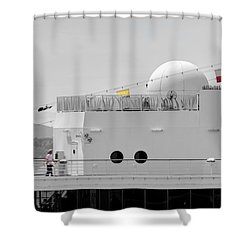 The Star Deck Shower Curtain