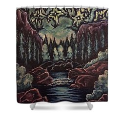 The Stars In Harmony Shower Curtain by Cheryl Pettigrew