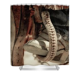 The Stirrup Shower Curtain