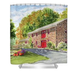 The Stone House Shower Curtain