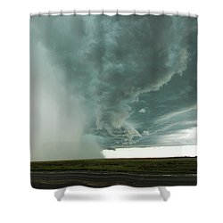 The Stoneham Shelf Shower Curtain