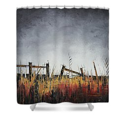 The Stories Were Left Untold Shower Curtain by Carolyn Doe
