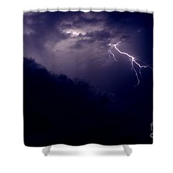 The Storm 1.3 Shower Curtain
