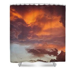 The Storm Blower Shower Curtain