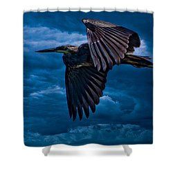 The Stormbringer Shower Curtain by Chris Lord