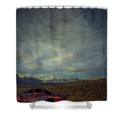 The Story Goes On  Shower Curtain