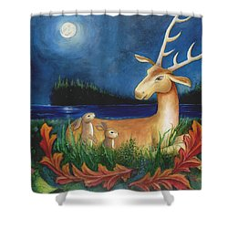 The Story Keeper Shower Curtain by Terry Webb Harshman