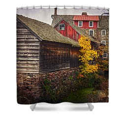 The Stover-meyers Mill Shower Curtain