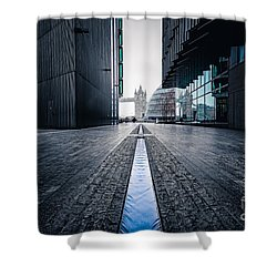 The Stream Of Time Shower Curtain