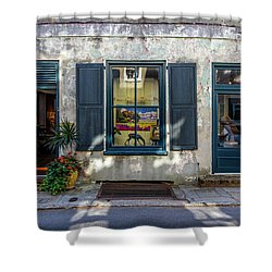 The Streets Of Charleston Shower Curtain