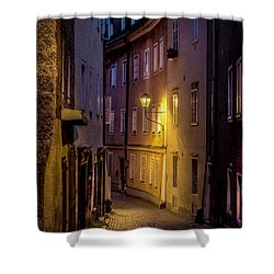 Shower Curtain featuring the photograph The Streets Of Salzburg by David Morefield