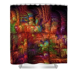 The Strong Fabric Of Dreams Shower Curtain