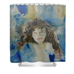 The Student Shower Curtain by Donna Acheson-Juillet