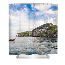 The Stunning  Koh Mook In The Trang Island Shower Curtain
