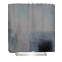 Shower Curtain featuring the painting the Sublimation of ideas by Min Zou
