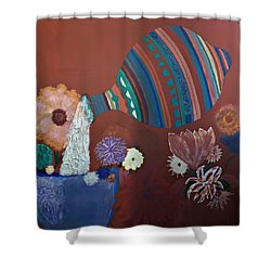 The Substance Of Life Shower Curtain
