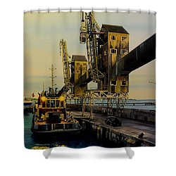 The Sugar Towers Of Barbados Shower Curtain