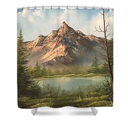 The Summit  Shower Curtain
