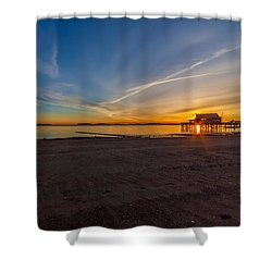The Sun Also Rises Shower Curtain