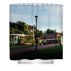 The Sun Rises On Western Carolina University Shower Curtain