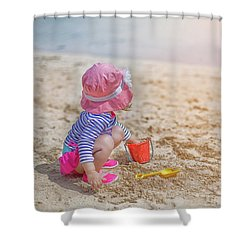 The Sun Will Come Out Shower Curtain