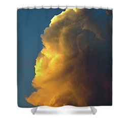 The Sunset Cloud Shower Curtain