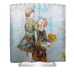 The Surprise Shower Curtain
