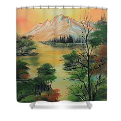 The Swamp 2 Shower Curtain