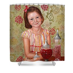 The Sweet Sneak Shower Curtain