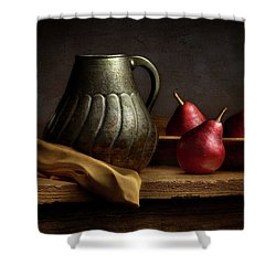 Shower Curtain featuring the photograph The Table by Cindy Lark Hartman