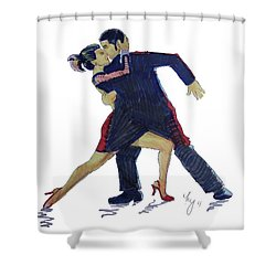 The Tango Shower Curtain