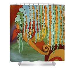 The Tao Of Intensity Shower Curtain