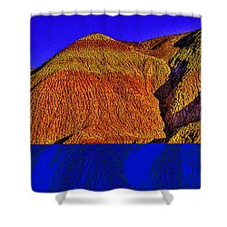 The Tepees Up Close Shower Curtain