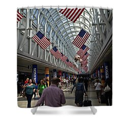 The Terminal Walkway Shower Curtain