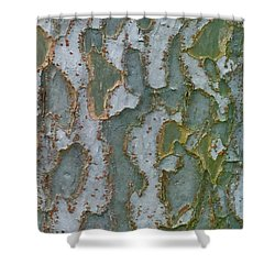 The Texture Is In The Trees3 Shower Curtain