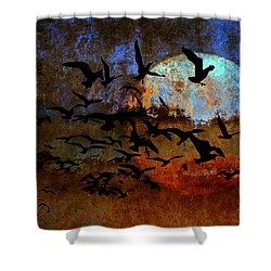 The Texture Of Our Dreams Shower Curtain by Ron Jones