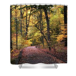 Shower Curtain featuring the photograph The Thain Forest by Jessica Jenney