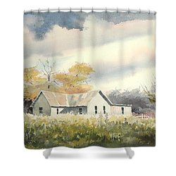 The Thompson Place Shower Curtain