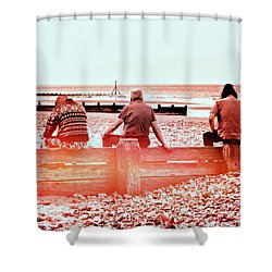The Three Amigos Shower Curtain