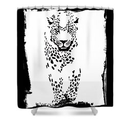 The Three Musketeers - Leopard Shower Curtain