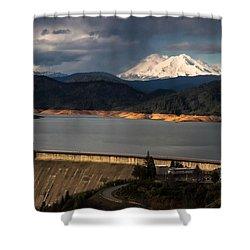 The Three Shasta's Shower Curtain